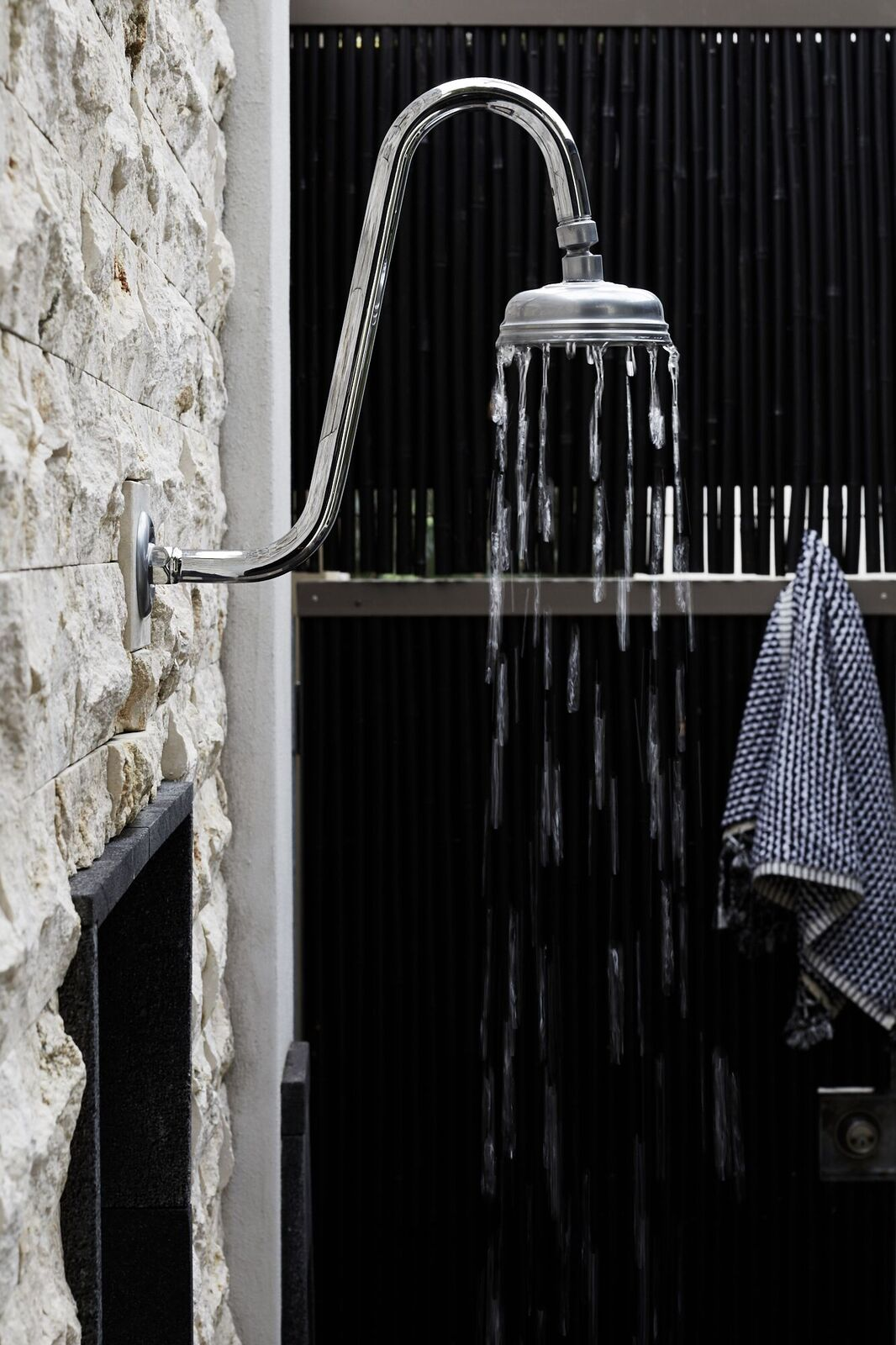 The Villas of Byron Outdoor Shower