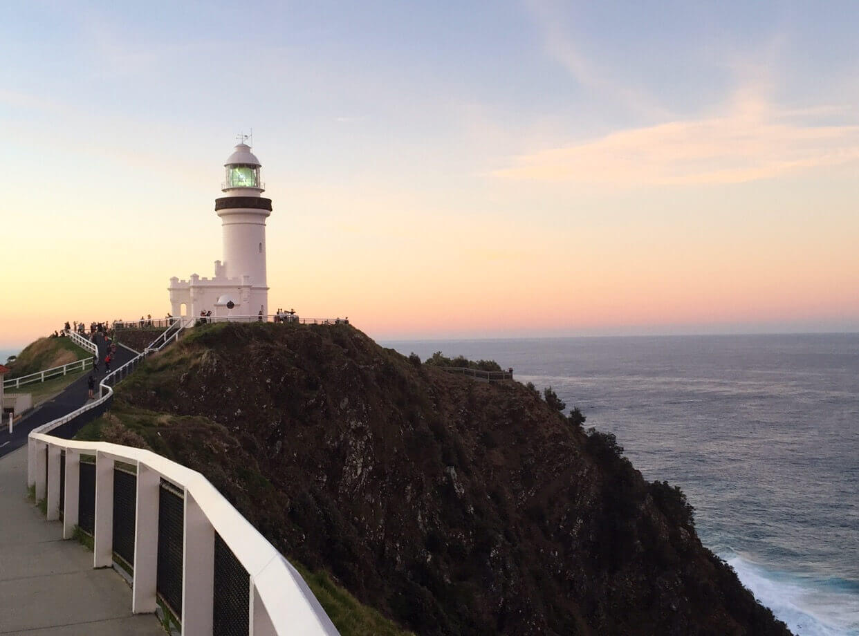Cape Byron Lighthouse, photo by Wild Goat Events, Byron Bay